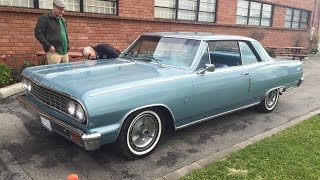 Riding In A 1964 Chevrolet Malibu SS