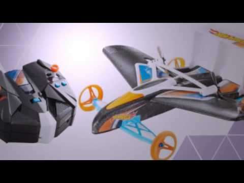 hot wheels street hawk rc flying car review youtube. Black Bedroom Furniture Sets. Home Design Ideas