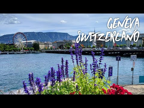 A Walk Through Geneva Switzerland