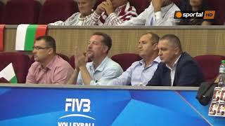 """Президентът Румен Радев, министър Красен Кралев и Любо Ганев в зала """"Конгресна"""""""