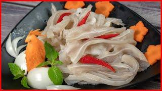 "Sweet and sour ""pickled pork ears"" (Cách làm Tai Heo Chua Ngọt)"