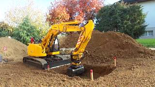 Kobelco SK270SR 1:15 First Test Outdoor
