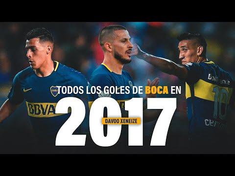 Todos los goles de Boca Juniors en 2017.