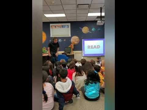 Author Visit at Midland School. Phil Bildner!