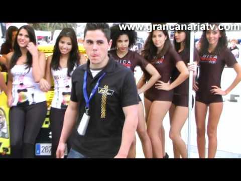 Lo mejor del rally islas canarias 2012 las chicas modelos azafatas de fan motor y vodka guanche - Gran canaria tv com ...