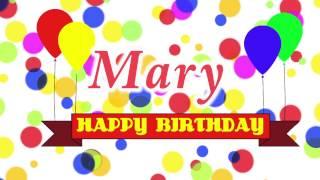 Happy Birthday Mary Song