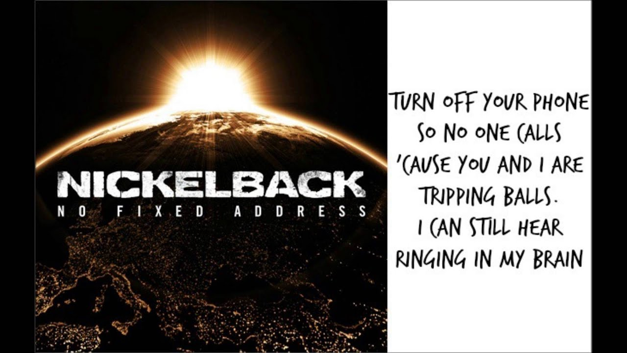 Nickelback shakin hands lyrics