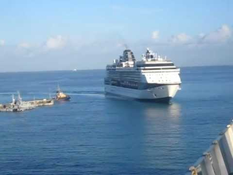 Celebrity Cruises Celebrity Summit Arriving in Barbados