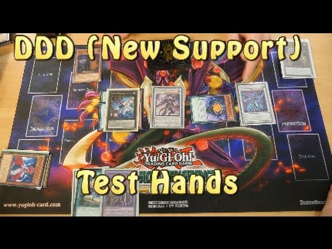 YUGIOH DDD New Support Test Hands