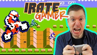 ExciteBike NES Video Game Review S5E12 | The Irate Gamer