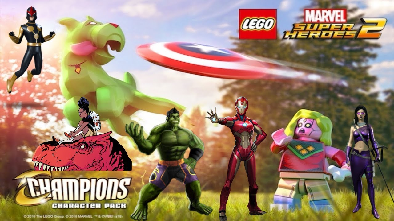 Marvel Super Heroes 60 Superhéroes: LEGO Marvel Super Heroes 2 Champions Character Pack