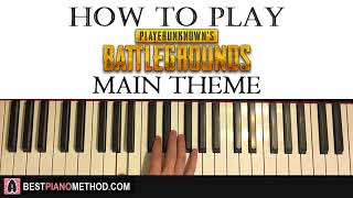Baixar HOW TO PLAY - Playerunknown's Battlegrounds Main Theme (Piano Tutorial Lesson)