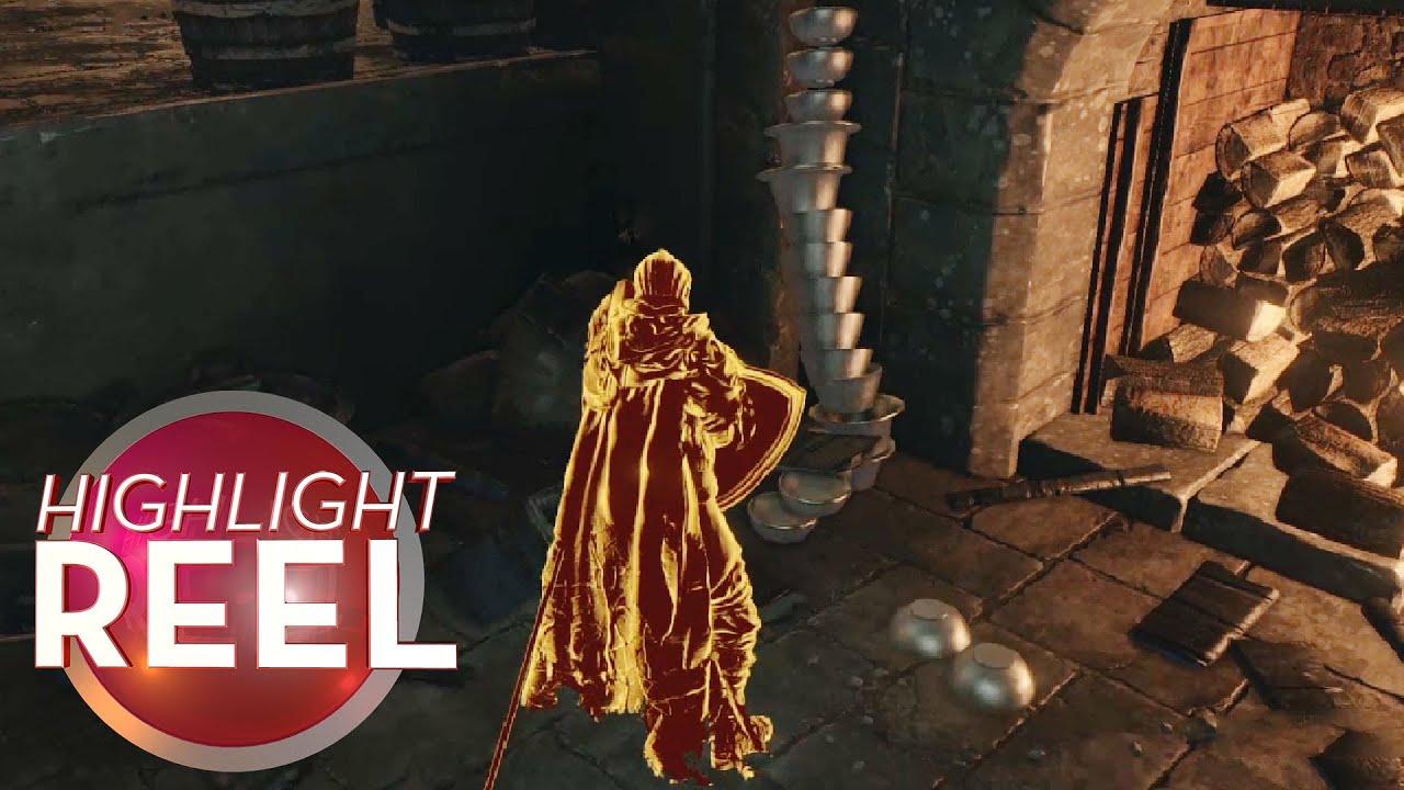Highlight Reel #404 - Dark Souls Bowls Stack Themselves