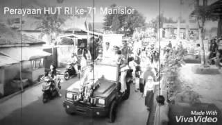 HUT RI ke-71 di Desa Manislor