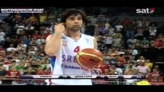 Serbia vs Montenegro - BASKETBALL - Unbelievable Last Seconds!!!
