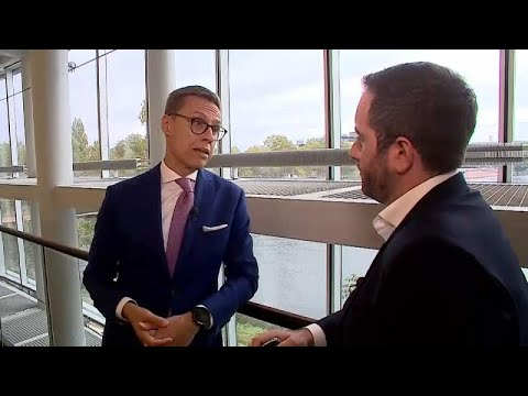 Raw Politics: Finnish PM Alexander Stubb makes his case for Commission presidency