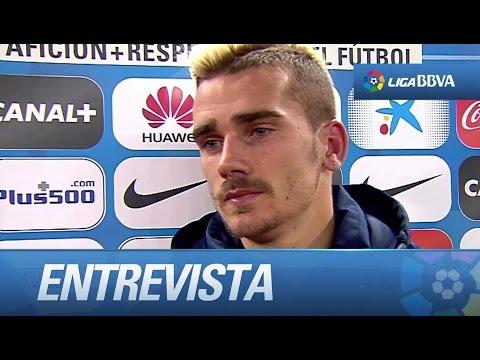 """Griezmann: """"Nunca celebraré un gol contra la Real Sociedad, me lo dieron todo"""""""