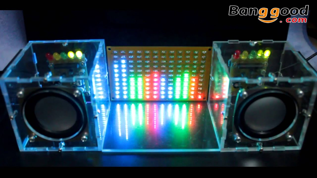 led music spectrum electronic diy led flash kit 12 11fft. Black Bedroom Furniture Sets. Home Design Ideas