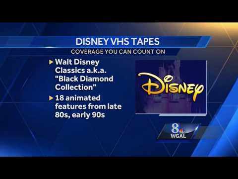 Are your old Disney VHS tapes worth money?