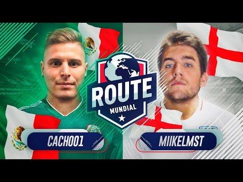 ROUTE MUNDIAL   JORNADA 1   CACHO VS MIKEL