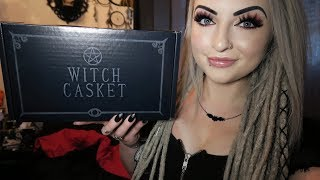 Witch Casket - Monthly Subscription Box Unboxing June 2019