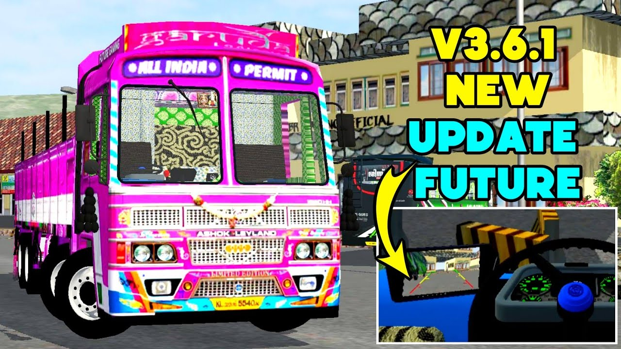 🔴 Bussid V3.6.1 update   introducing new concept Indian lorry  mod  