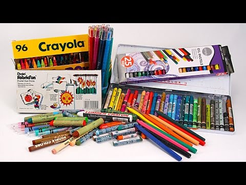 PREVIEW: How to Choose Crayons - with Barb Owen - HTGC Member Class s03e01