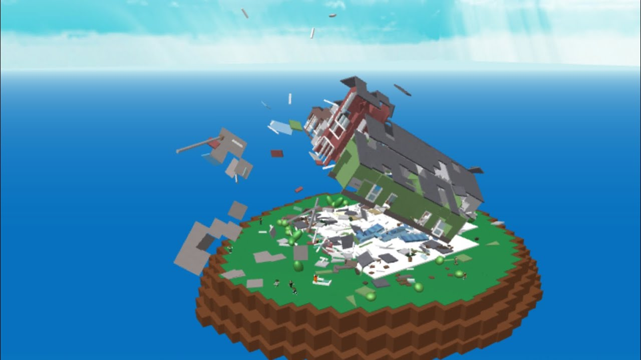 Roblox Natural Disasters Survival E8 Safety Second Youtube