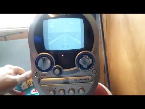 Craig cd+graphics karaoke w/ B/W TV monitor/color camera model CG8400