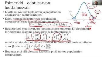 Riippuvuusanalyysi - Estimaatit - teoria