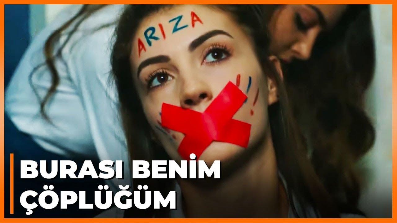 Melisa ve Tuğçe, Nazlı'yı Tuvalete Kilitlediler! - Güneşin Kızları 20..Bölüm