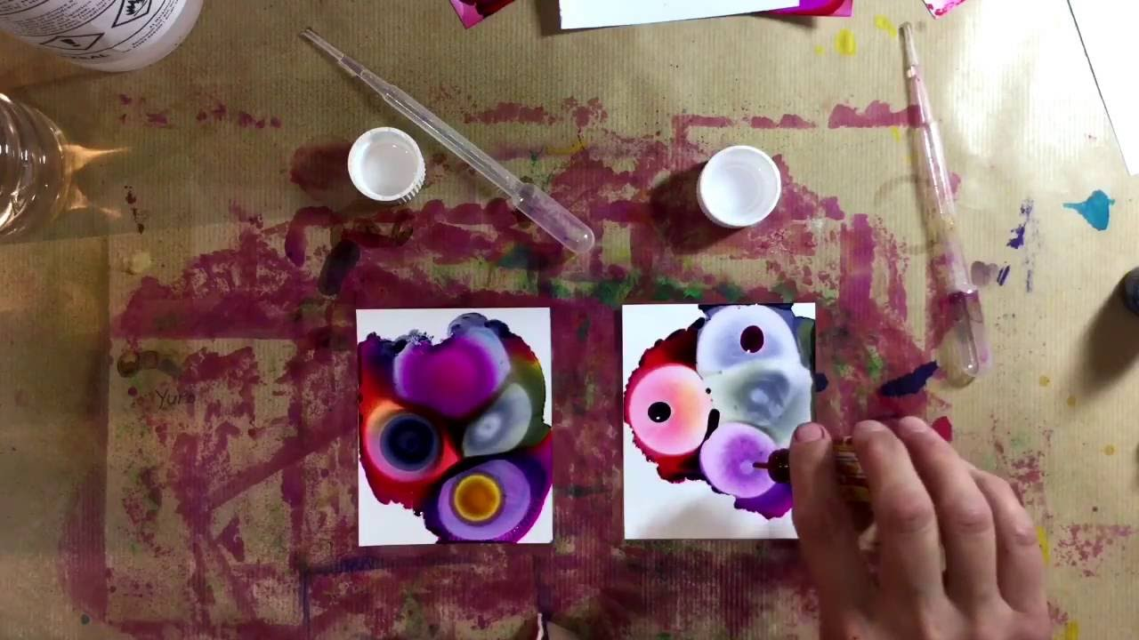 Alcohol Inks - Comparing Isopropyl Alcohol (IPA) with Surgical Spirits -  Surprising Results!