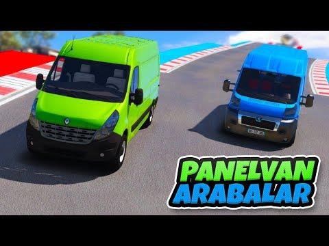 Harika Panelvan Arabalar Tırmanma Parkuruna Çıkıyor - GTA 5