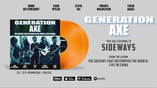"""Generation Axe """"Sideways"""" (Live in China) Official Song Stream - Album out June 28th"""