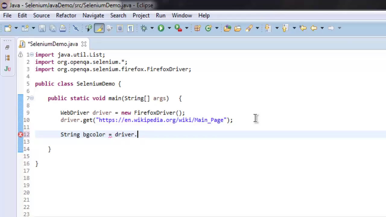 Extract Css Attribute Of Element Selenium Java  Devnami 03:27 HD