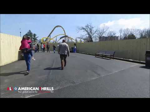 Hersheypark Temporary Entrance Full Walk-Through