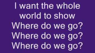 Chris Brown Ft. Pitbull Where Do We Go From Here Lyrics On Screennew Single-