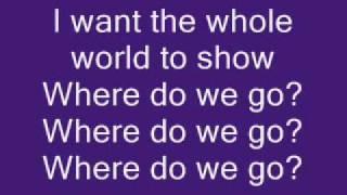 Chris Brown ft. Pitbull - Where Do We Go From Here (LYRICS on SCREEN) -NEW SINGLE-