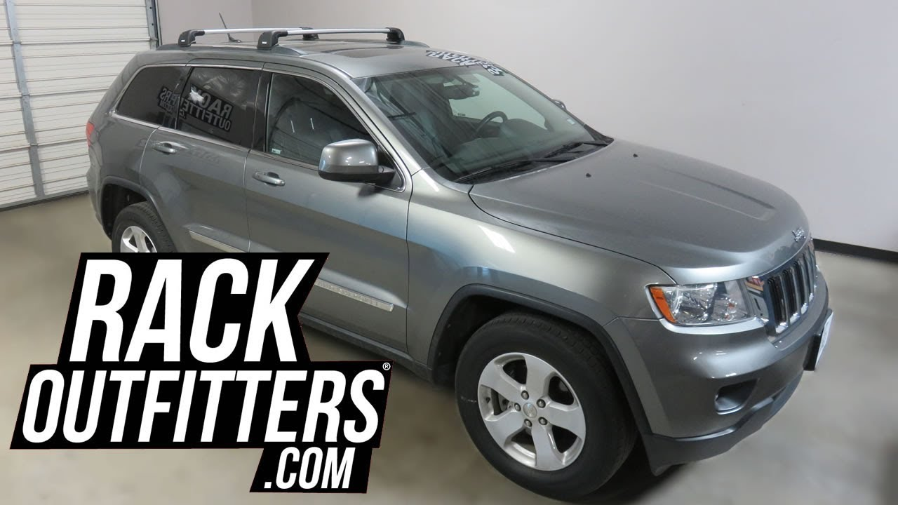 Jeep Grand Cherokee with Thule AeroBlade EDGE Roof Rack ...