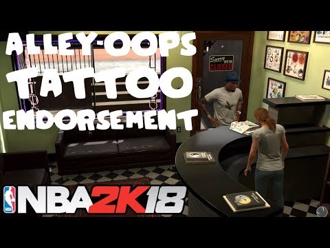 NBA 2K18 | ALLEY-OOPS TATTOO ENDORSEMENT