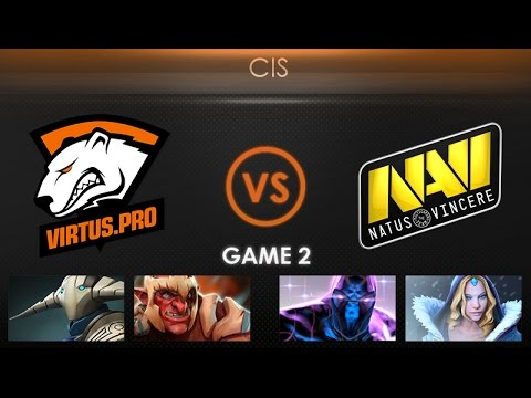 Virtus.pro vs Natus Vincere Game 2 - Kiev Major CIS Qualifier: Playoffs - @LDdota @BTSGoDz