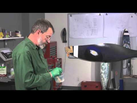 Hartzell Composite Propeller Repair Video - Kevlar Gouge Repair