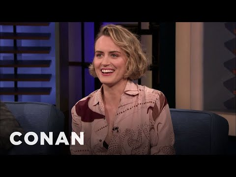 Cover Lagu Taylor Schilling Looked Like Gumby When She Was 16 - CONAN on TBS stafamp3