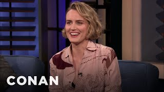 Taylor Schilling Looked Like Gumby When She Was 16 - CONAN on TBS