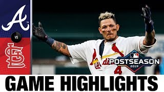 Yadier Molina Lifts Cardinals To Comeback Win In Nlds Game 4   Braves Cardinals Game Highlights