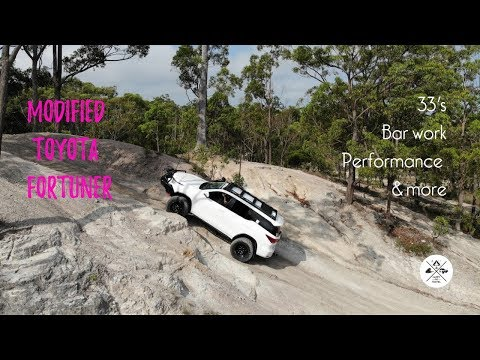 Toyota Fortuner modifications, Happy Go Travel's Fortuner
