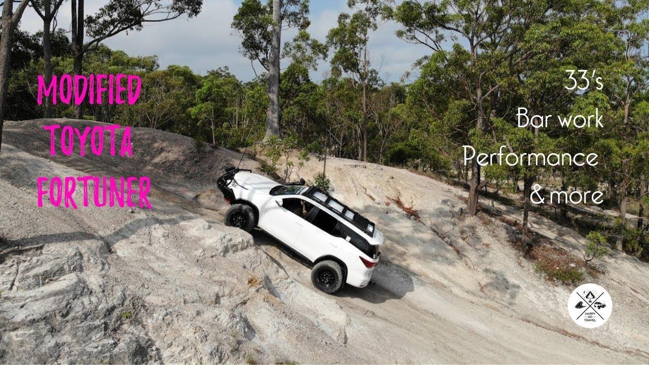 Toyota Fortuner modifications Happy Go Travel's Fotuner