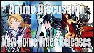 Anime Discussion | New Anime Releases Coming To Blu-ray | Viz Media, Aniplex, and Sunrise (2018)