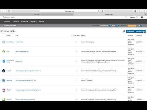 Product Spotlight: Quick Links
