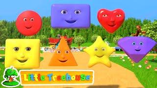 şekiller şarkısı  Bebekler Için Şarkılar  Animasyon  Little Treehouse Türkçe  Okulöncesi